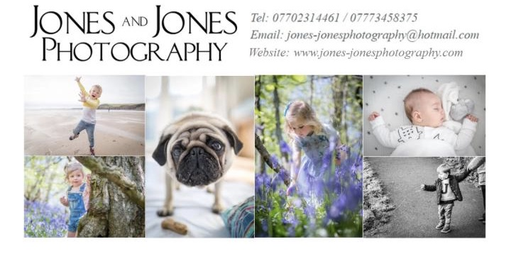 silent auction 6 - An outdoor or home photoshoot by Jones & Jones Photography with all images presented license free on a USB stick (South Wales area only)