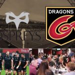 silent auction 1 - Six passes for Worthington's lounge at Ospreys v Dragons (weekend of 22/23/24 March) including match ticket, 1 course pre-match meal and a 'pie and a pint' post-match.