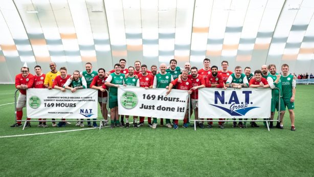 2019 World Record Attempt – Longest 11-a-side football match