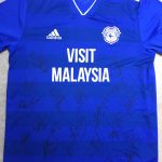 Signed Cardiff City Shirt