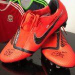 Signed Ethan Ampadu Boots